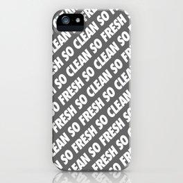 #TBT - SOFRESHSOCLEAN (REMIX) iPhone Case