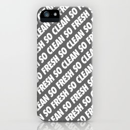 #TBT - SOFRESHSOCLEAN (REMIX) iPhone Case