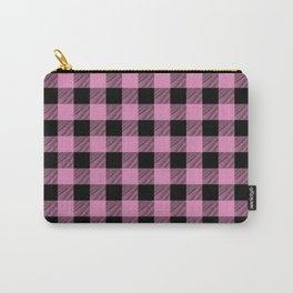 Lumberjill Pink Buffalo Plaid Carry-All Pouch