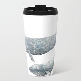 Blue whale (Balaenoptera musculus) Travel Mug