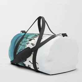 White Cranes Duffle Bag