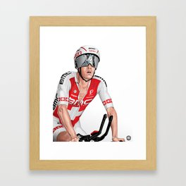 Silvan Dillier | BMC Framed Art Print