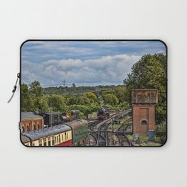 Camelot end of day. Laptop Sleeve