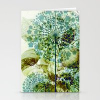 dandelion Stationery Cards featuring dandelion by clemm