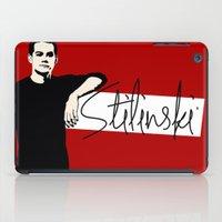 stiles stilinski iPad Cases featuring Team Human: Stilinski  by Keyweegirlie