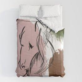 Abstract Equine ii Comforters