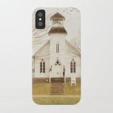 Country Church iPhone X Slim Case