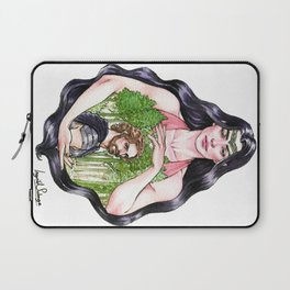 In The Shadow of Her Hand Laptop Sleeve