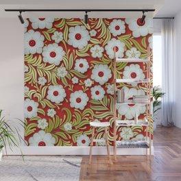Art Flowers V3 Wall Mural