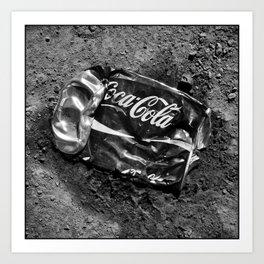 'Coca-cola' Art Print