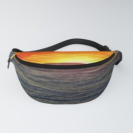 Paddle Boarding at Sunset Fanny Pack