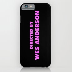 Directed By Wes Anderson Slim Case iPhone 6