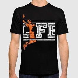 Basketball Is Life T-Shirt Baller Tee T-shirt