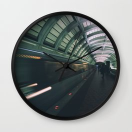 Morning Commute Wall Clock