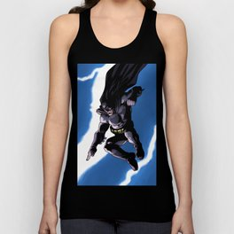 A Dark and Stormy Knight Unisex Tank Top