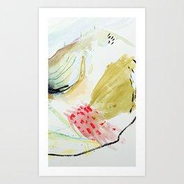 Day 52: peaks and valleys. Art Print