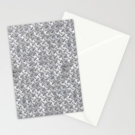 Silver Stud Metal Stationery Cards