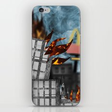 Hell Fire & McDonalds iPhone & iPod Skin