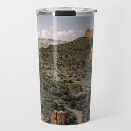 Balanced Rock Valley View in Big Bend - Landscape Photography Travel Mug