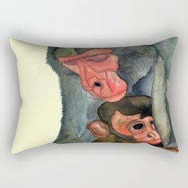 Motherly Protection Rectangular Pillow