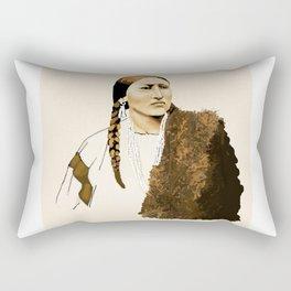 Bear Skin Rectangular Pillow