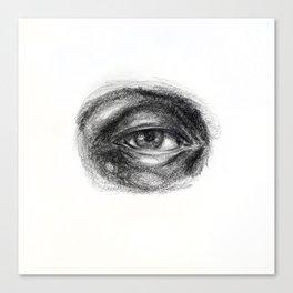 Eye study sketch 1 Canvas Print