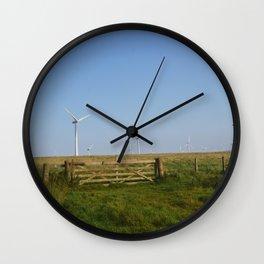 Scottish Wind Mills Wall Clock