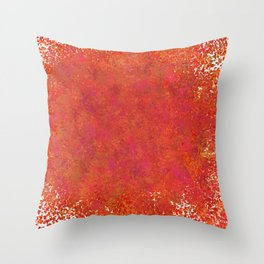 Love splatter Throw Pillow
