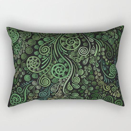 Fantasy Tree Greenery Rectangular Pillow
