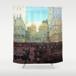 Thursday 7 March 2013: gape asset / pryer slot Shower Curtain
