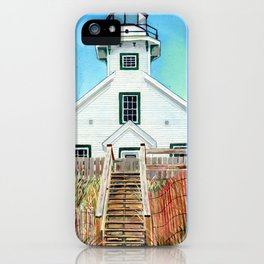 Mission Point Lighthouse iPhone Case