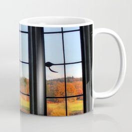 Autumn Window Coffee Mug