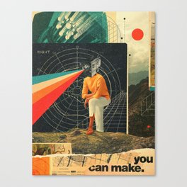 You Can make it Right Canvas Print