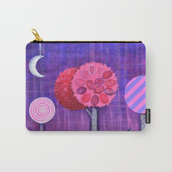 Violet Grove Carry-All Pouch