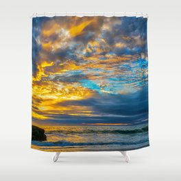 Sunset Sky Over Laguna II Shower Curtain