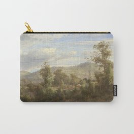 Louis Buvelot - Between Tallarook and Yea (1880) Carry-All Pouch