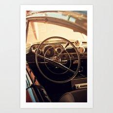 Dice + Drive Art Print