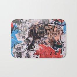 Basquiat Style Bath Mat