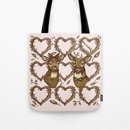 Deerly in Love Tote Bag