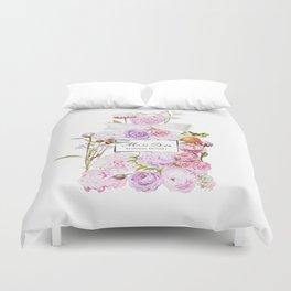 Parfum Perfume Fashion Floral Flowers Blooming Bouquet Duvet Cover