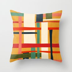 Variation of a theme Throw Pillow