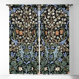 Blackthorn by John Henry Dearle for William Morris Blackout Curtain