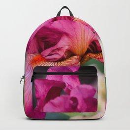Tyrian Purple Flower Backpack