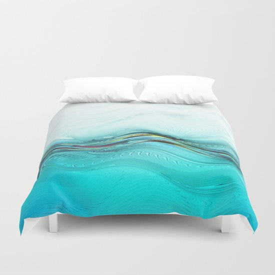 Fractal Wave Duvet Cover