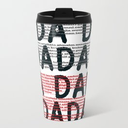 100 Years of DADA #3 Travel Mug