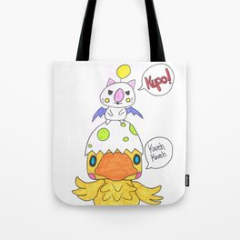 Moogle and Chocochick Tote Bag