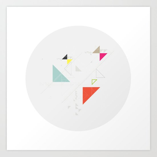 cercle_ II Art Print