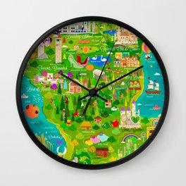 Imagine Nation Wall Clock