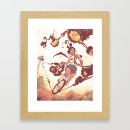 Trickle Down Effect Framed Art Print