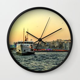 City of Mystery (2) Wall Clock